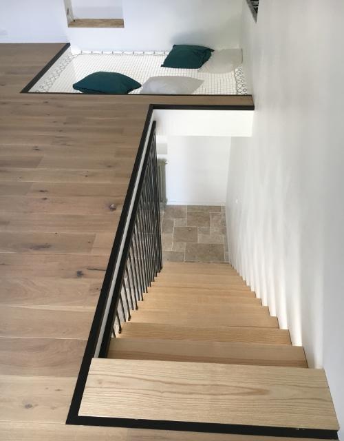 escalier moderne et original
